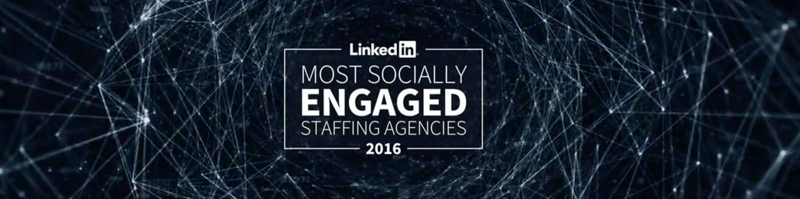LinkedIn Most Socially Engaged Agencies - 2016