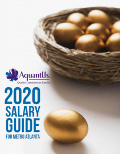 Salary Guide for Accounting and Finance